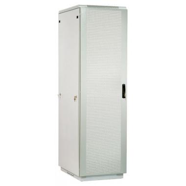 Шкаф коммутационный ЦМО ШТК-М-42.6.8-4ААА 42U 600x820мм пер.дв.перфор. задн.дв.стал.лист 2 бок.пан. направл.под закл.гайки 550кг серый